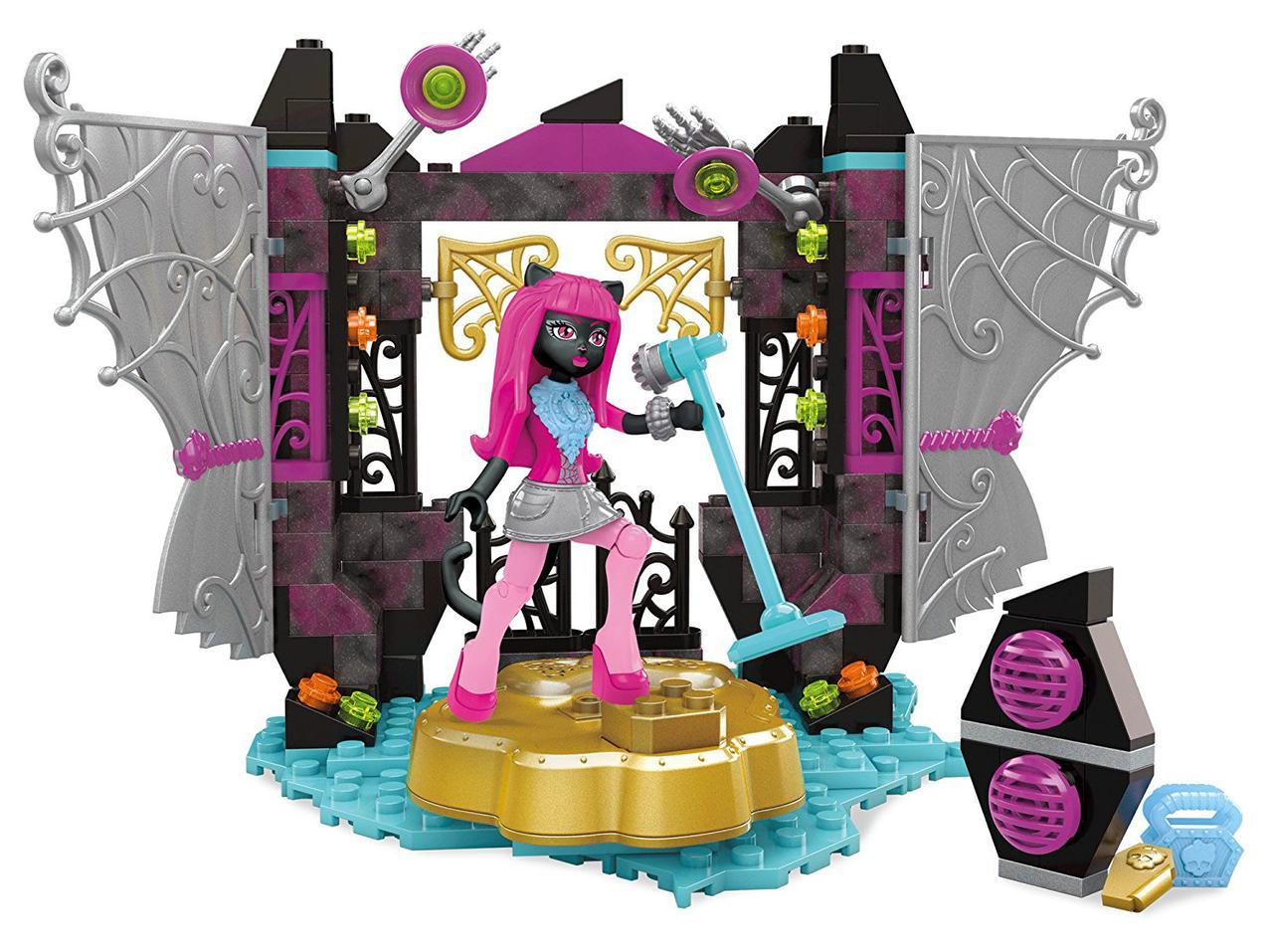 Конструктор Mega Bloks Monster High сцена Кэтти Нуар