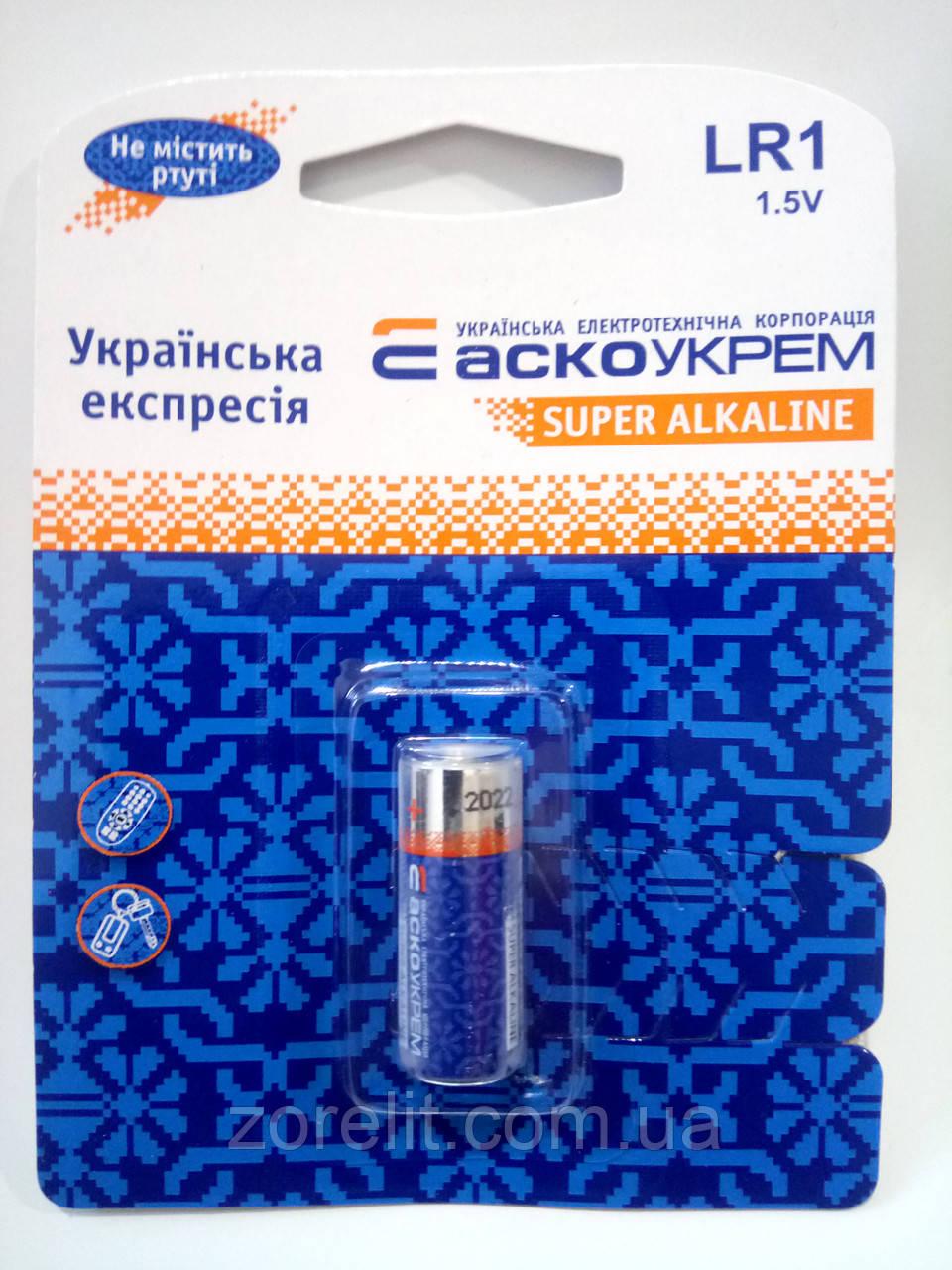 Батарейка Аско LR1 (1шт)