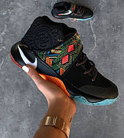 "Баскетбольные кроссовки Nike Kyrie 2 BHM ""Black Indian"". Живое фото (аир кари)"