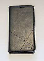 Чехол-книжка для смартфона Huawei Y5 II (CUN-U29) чёрная