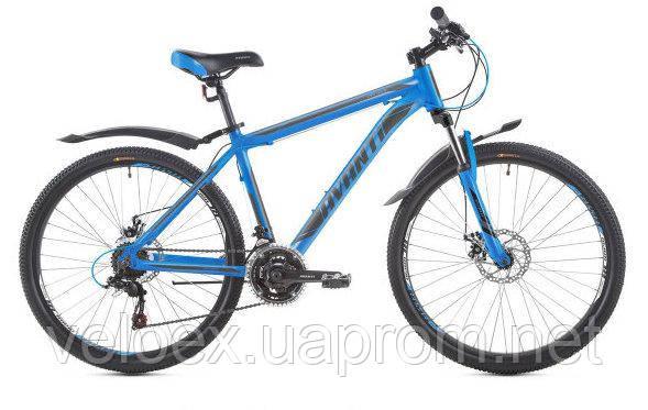 """Велосипед подростковый Avanti Premier 26"""" 2018 синий"""