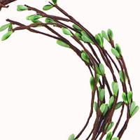 Веточка-прутик с зелеными почками 5 шт., фото 1