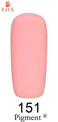 Гель-лак F.O.X 151 Pigment коралловый, 6 мл