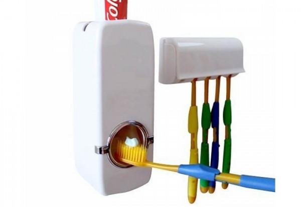 Автоматический Дозатор зубной Пасты+ Держатель Щетки(JX-889)