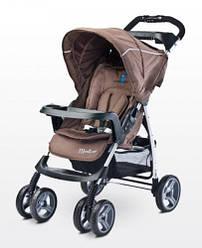 Детская прогулочная коляска Caretero Monaco - brown