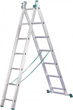 Универсальная лестница ITOSS 7507 (2х7), фото 2