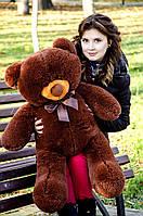 Большой плюшевый медведь 80см. Пух разные цвета (плюшевый мишка, мягкая игрушка)