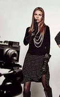 Женское платье черного цвета от Philippe Matignon, р. S/М