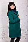 Стильное женское кашемировое пальто на запах от производителя модель весна 2018 - (рр-74), фото 2
