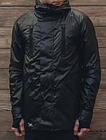 Черная мужская весенняя куртка Staf Full thermochromic