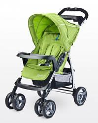 Детская прогулочная коляска Caretero Monaco - green