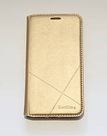 Чехол-книжка для смартфона Huawei Y5 II (CUN-U29) золотая