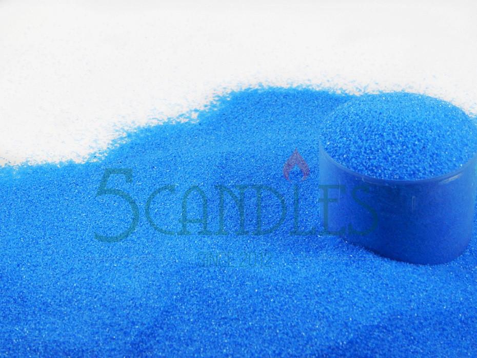 Песок цветной для творчества (голубой) 1кг