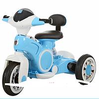 Детский мотоцикл-трицикл BAMBI M 3296L-4, синий