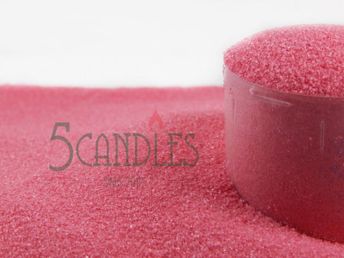 Песок цветной для творчества (розовый) 1 кг
