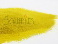 Песок цветной для творчества (желтый) 1 кг
