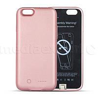 Чехол с батареей FOREVER для iPhone 6/6s 3000mAh Розовый
