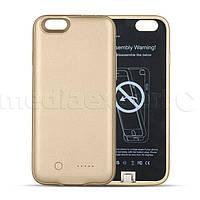 Чехол с батареей FOREVER для iPhone 6/6s 300mAh золотой