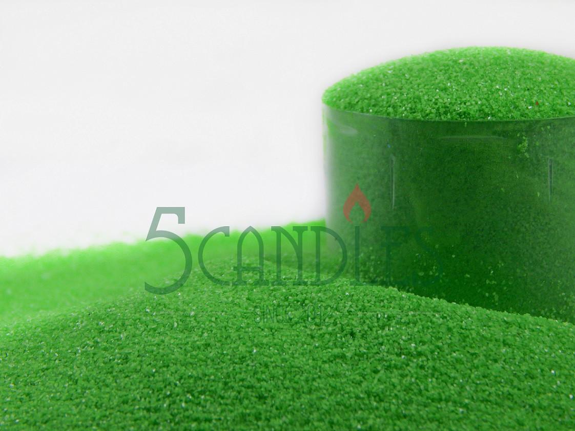 Песок цветной для творчества (Майский зеленый) 1кг