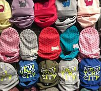 Комплект детский шапка и шарф-хомут  1502/3