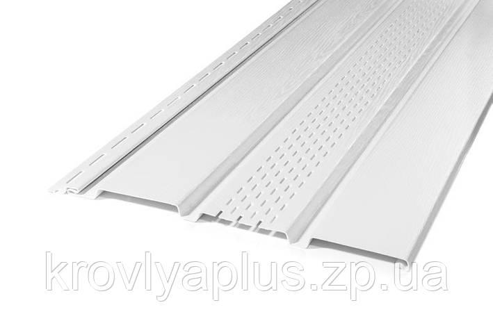 Соффит Rainway/Рейнвей белый перфорированный, фото 2