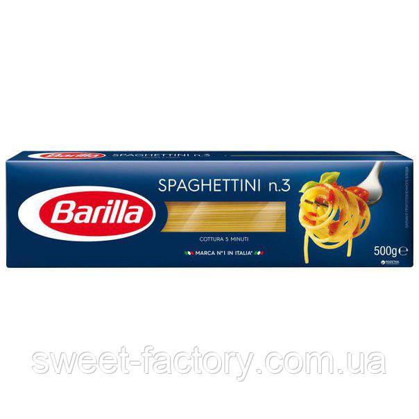 Макароны Barilla Spaghettini №3 спагеттини