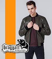 Braggart 1708 | Весенне-осенняя ветровка мужская хаки