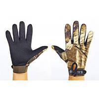 Перчатки спортивные (тактические) с закрытыми пальцами Zel (BC-4467)