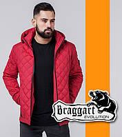 Braggart 1358 | Весенне-осенняя ветровка мужская красный