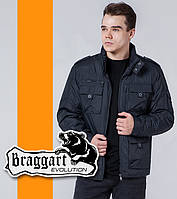 Braggart 3898   Ветровка весна-осень мужская графит