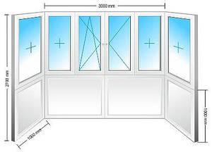 Остекление балкона-Элит