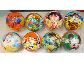 """Мяч 6"""" BT-PB-0002 мультики 8в.45г сетка ш.к./700"""