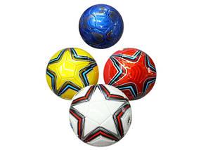 Мяч футбольный BT-FB-0025 400г 4цв.ш.к./60/
