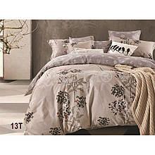 Натуральный комлект постельного белья сатин люкс Tiare евро 13T