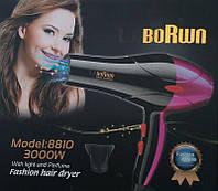 Профессиональный фен для волос Borwn 8810, 3000Вт