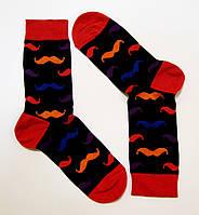 Модные мужские носки с рисунком