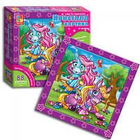 Детский развивающий набор для рисования Кристалл картина (Пони) VT4010-05 (рус)