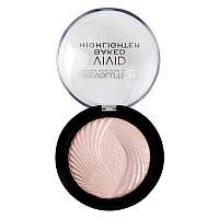 Makeup Revolution Vivid Baked Highlighter Запеченный хайлайтер Peach lights