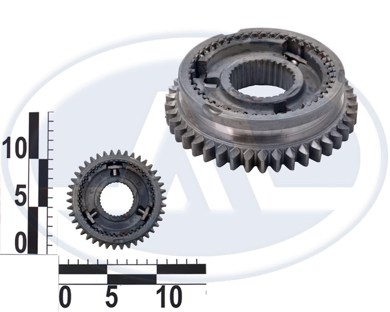 Муфта синхронизатора КПП Калина, 1-2 передачи