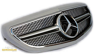 Решетка радиатора Mercedes W212 рестайл в стиле AMG (под покраску)