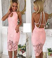Очень красивое вечернее платье из гипюра