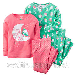 Пижама Сонная совушка  (Размер 4) Carters (США)