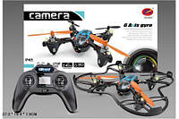 Квадролет Квадрокоптер аккумуляторный  8953  с видеокамерой, в коробке