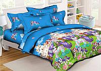 Детский комплект постельного белья 150*220 хлопок (9197) TM KRISPOL Украина