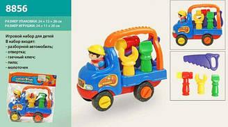 Конструктор для дітей машинка 8856 (48шт/2) машина з людиною, в пакеті 24*12*26 см