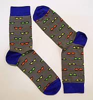 Модные носки с рисунком для мужчин