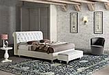 Мягкая кровать RAFFAELLO с простеганным изголовьем фабрика LeComfort (Италия), фото 3