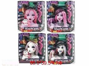 "Голова куклы ""Monster High"", 4 вида, с аксесс., в кор. 35х39х17 /12-2/"