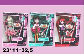 Кукла MONSTER GIRL 93052 с гитарой 3в.кор.23*11*32,5 ш.к./36/