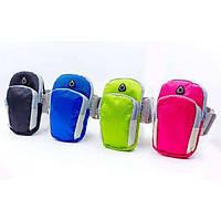 Чехол-кошелек для телефона на руку для бега 18х11х3см Zelart (GA-6385)